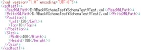 例1のXMLファイル